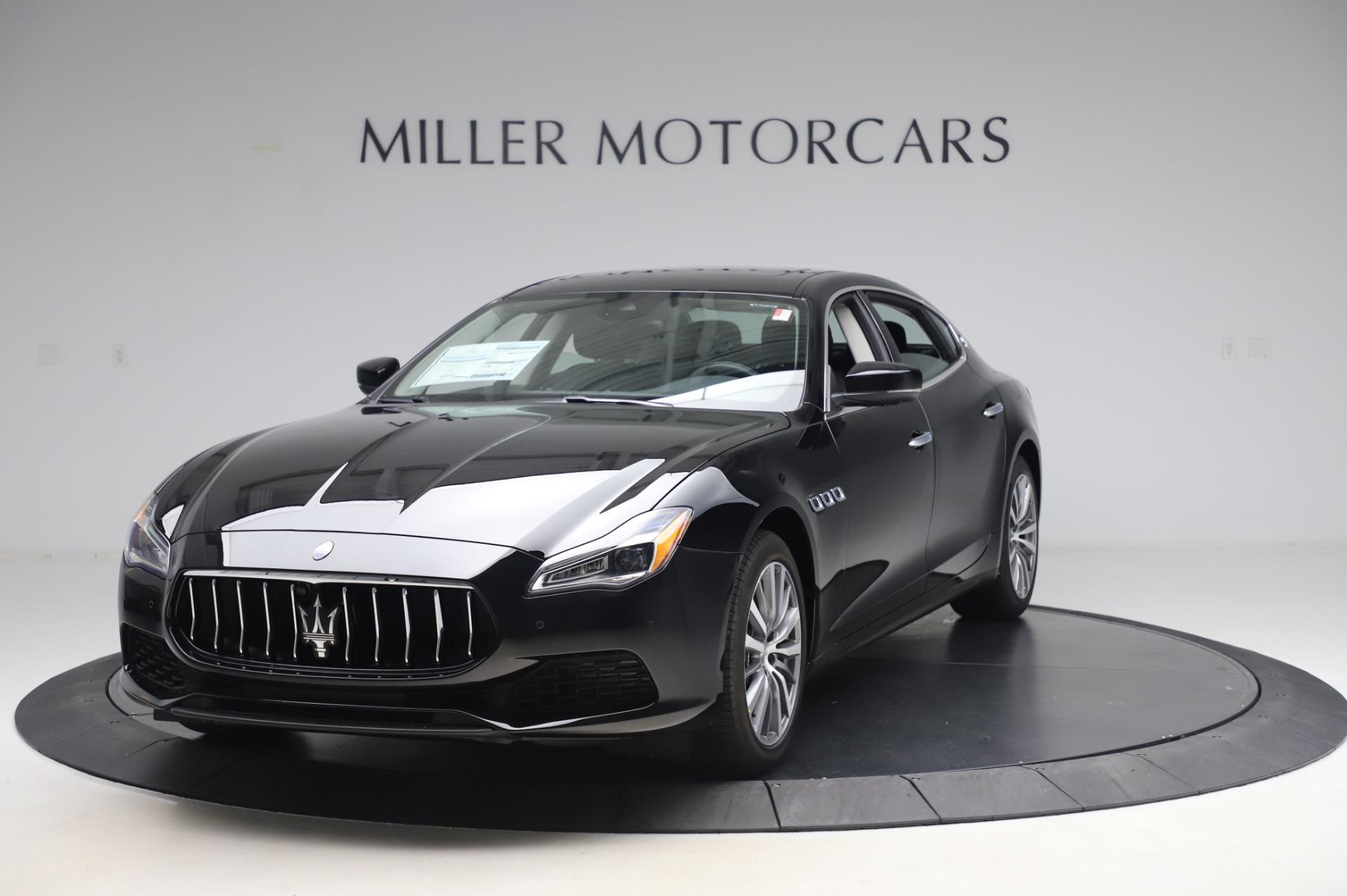 New 2020 Maserati Quattroporte S Q4 for sale $110,999 at McLaren Greenwich in Greenwich CT 06830 1