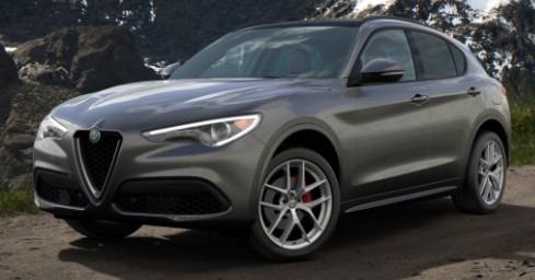 New 2020 Alfa Romeo Stelvio Ti Sport Q4 for sale $55,645 at McLaren Greenwich in Greenwich CT 06830 1