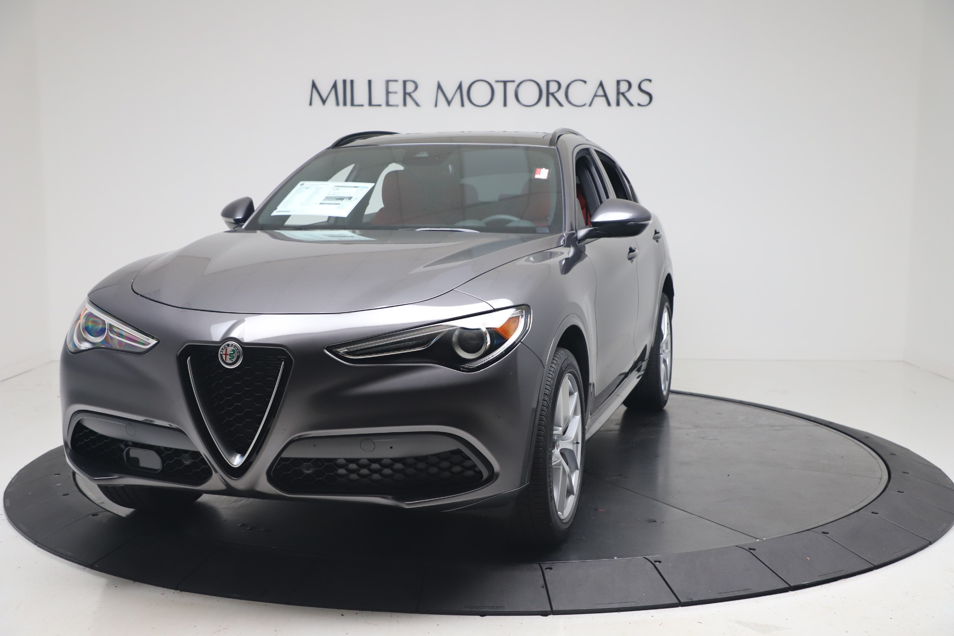 New 2020 Alfa Romeo Stelvio Ti Sport Q4 for sale Sold at McLaren Greenwich in Greenwich CT 06830 1