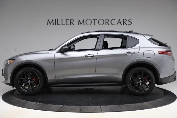 New 2020 Alfa Romeo Stelvio for sale $50,145 at McLaren Greenwich in Greenwich CT 06830 3