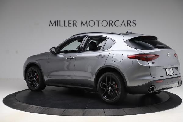 New 2020 Alfa Romeo Stelvio for sale $50,145 at McLaren Greenwich in Greenwich CT 06830 4