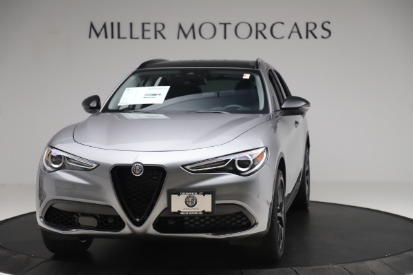 New 2020 Alfa Romeo Stelvio for sale $50,145 at McLaren Greenwich in Greenwich CT 06830 1