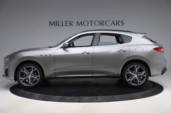 New 2020 Maserati Levante S Q4 GranSport for sale $104,635 at McLaren Greenwich in Greenwich CT 06830 3