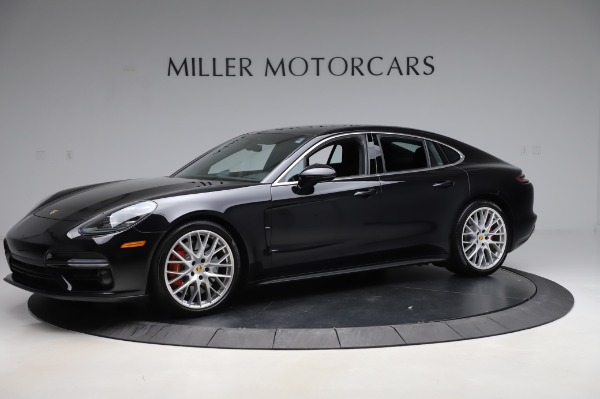 Used 2017 Porsche Panamera Turbo for sale $95,900 at McLaren Greenwich in Greenwich CT 06830 2