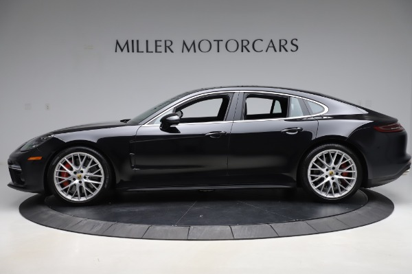 Used 2017 Porsche Panamera Turbo for sale $95,900 at McLaren Greenwich in Greenwich CT 06830 3