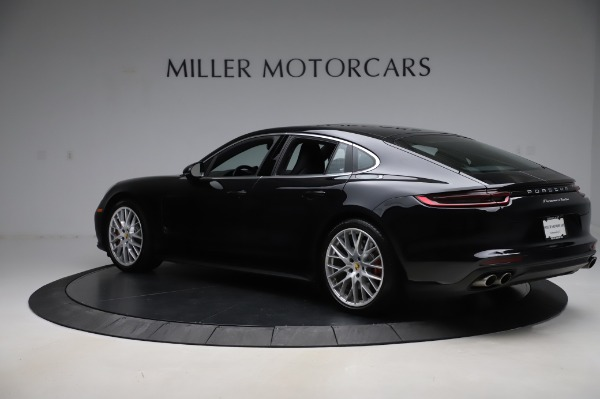 Used 2017 Porsche Panamera Turbo for sale $95,900 at McLaren Greenwich in Greenwich CT 06830 4