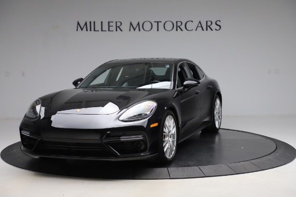Used 2017 Porsche Panamera Turbo for sale $95,900 at McLaren Greenwich in Greenwich CT 06830 1