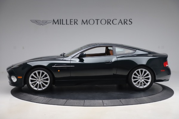 Used 2003 Aston Martin V12 Vanquish Coupe for sale $79,900 at McLaren Greenwich in Greenwich CT 06830 2
