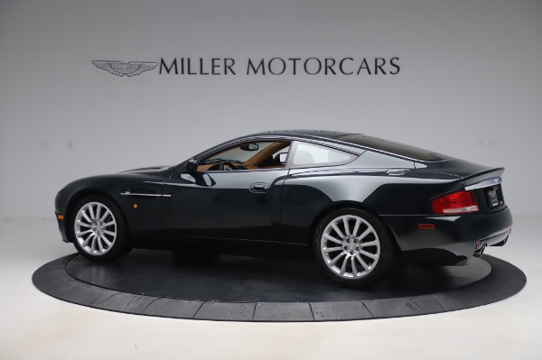 Used 2003 Aston Martin V12 Vanquish Coupe for sale $79,900 at McLaren Greenwich in Greenwich CT 06830 3