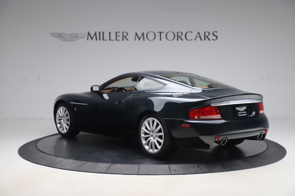 Used 2003 Aston Martin V12 Vanquish Coupe for sale $79,900 at McLaren Greenwich in Greenwich CT 06830 4