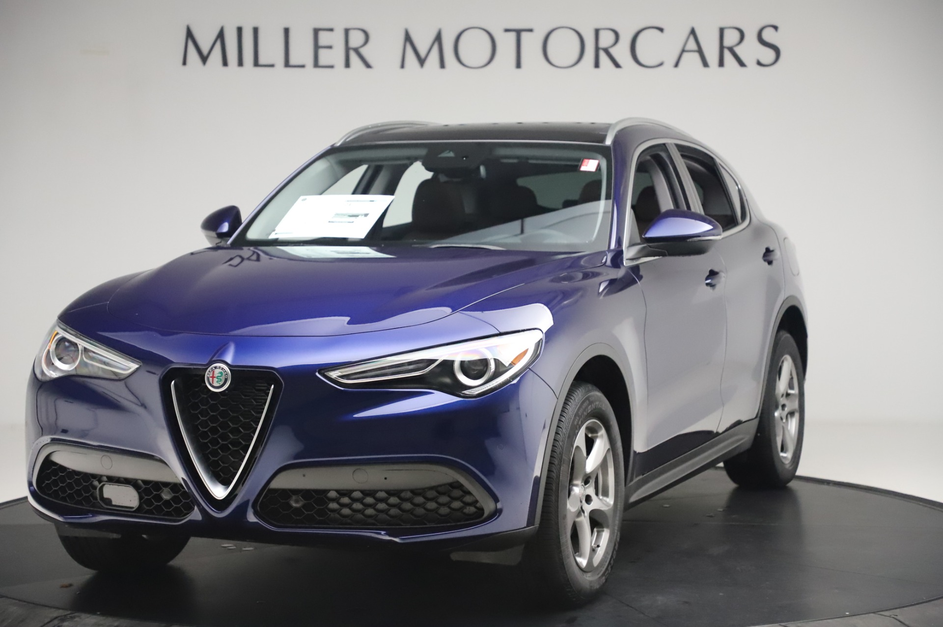 New 2020 Alfa Romeo Stelvio Q4 for sale $49,795 at McLaren Greenwich in Greenwich CT 06830 1