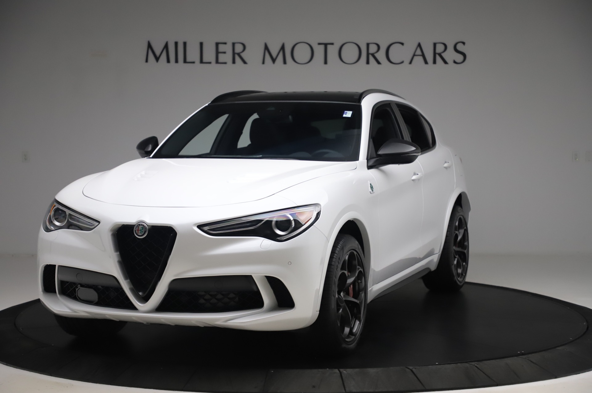 New 2020 Alfa Romeo Stelvio Quadrifoglio for sale $90,945 at McLaren Greenwich in Greenwich CT 06830 1
