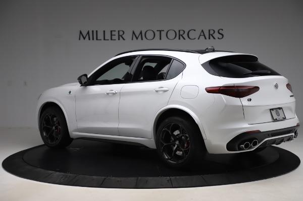 New 2020 Alfa Romeo Stelvio Quadrifoglio for sale $89,145 at McLaren Greenwich in Greenwich CT 06830 4