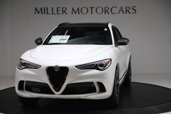 New 2020 Alfa Romeo Stelvio Quadrifoglio for sale $89,145 at McLaren Greenwich in Greenwich CT 06830 1