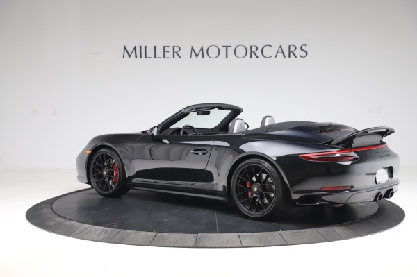 Used 2018 Porsche 911 Carrera 4 GTS for sale $137,900 at McLaren Greenwich in Greenwich CT 06830 3