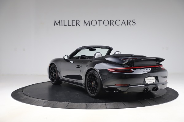 Used 2018 Porsche 911 Carrera 4 GTS for sale $137,900 at McLaren Greenwich in Greenwich CT 06830 4