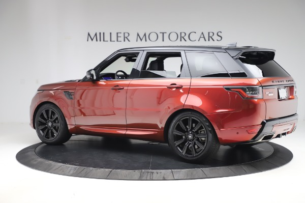 Used 2019 Land Rover Range Rover Sport Autobiography for sale Sold at McLaren Greenwich in Greenwich CT 06830 4