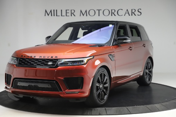 Used 2019 Land Rover Range Rover Sport Autobiography for sale Sold at McLaren Greenwich in Greenwich CT 06830 1
