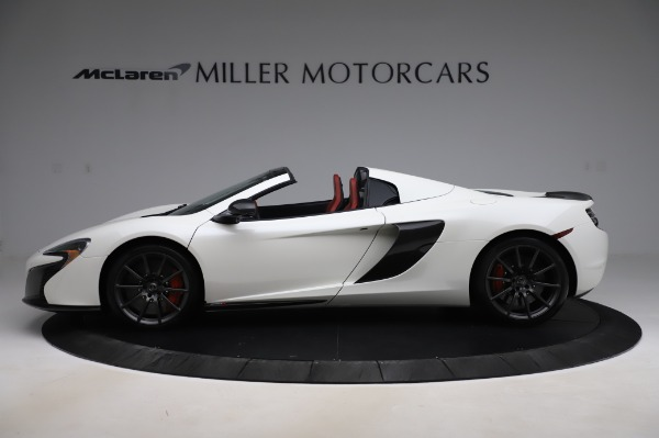 Used 2016 McLaren 650S Spider for sale Call for price at McLaren Greenwich in Greenwich CT 06830 3