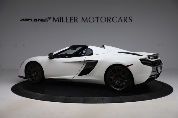 Used 2016 McLaren 650S Spider for sale Call for price at McLaren Greenwich in Greenwich CT 06830 4