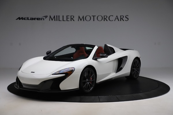 Used 2016 McLaren 650S Spider for sale Call for price at McLaren Greenwich in Greenwich CT 06830 1