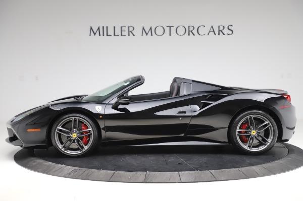 Used 2018 Ferrari 488 Spider for sale $289,900 at McLaren Greenwich in Greenwich CT 06830 3