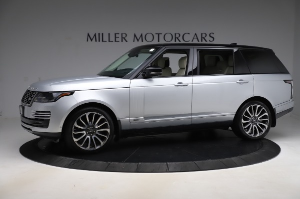 Used 2019 Land Rover Range Rover Supercharged LWB for sale Sold at McLaren Greenwich in Greenwich CT 06830 2