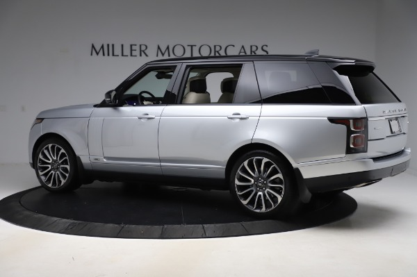 Used 2019 Land Rover Range Rover Supercharged LWB for sale Sold at McLaren Greenwich in Greenwich CT 06830 4