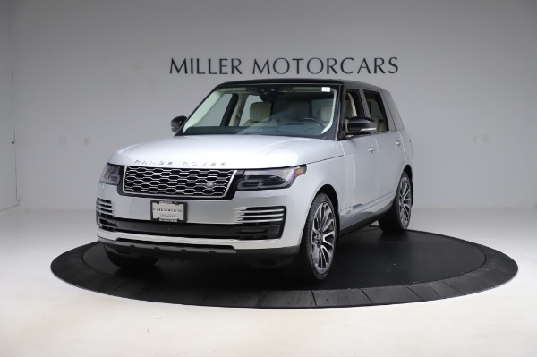 Used 2019 Land Rover Range Rover Supercharged LWB for sale Sold at McLaren Greenwich in Greenwich CT 06830 1