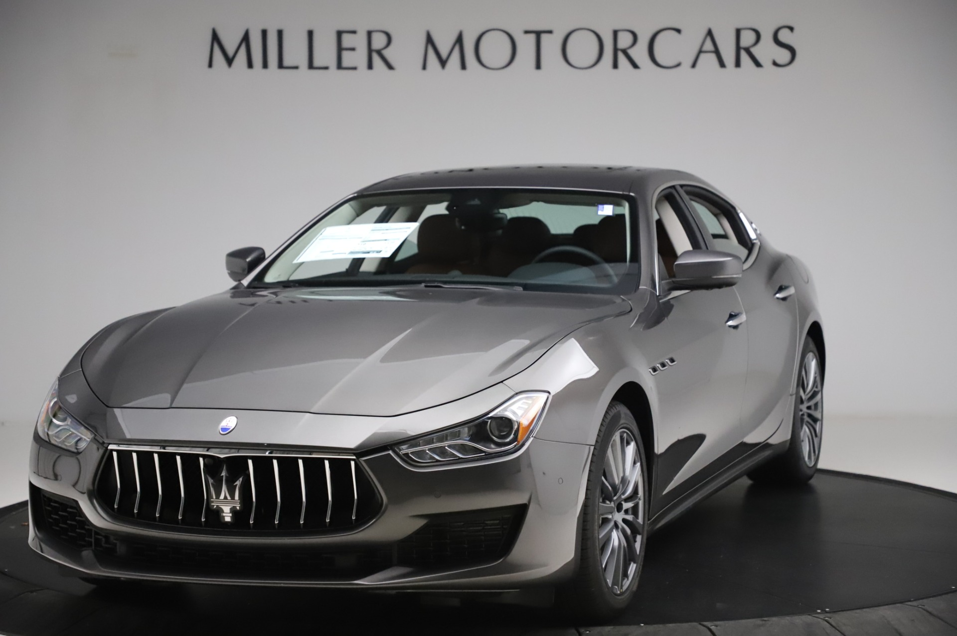New 2020 Maserati Ghibli S Q4 for sale $83,785 at McLaren Greenwich in Greenwich CT 06830 1
