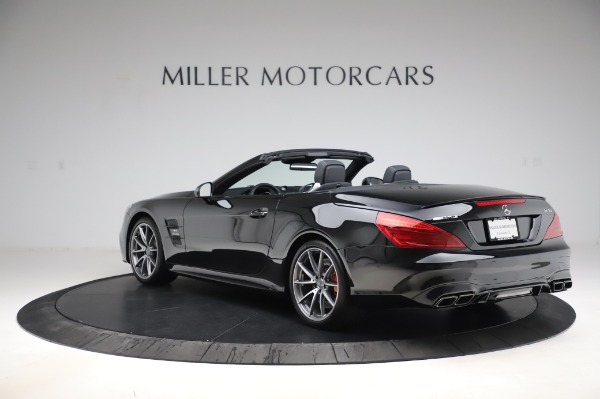 Used 2018 Mercedes-Benz SL-Class AMG SL 63 for sale Sold at McLaren Greenwich in Greenwich CT 06830 4