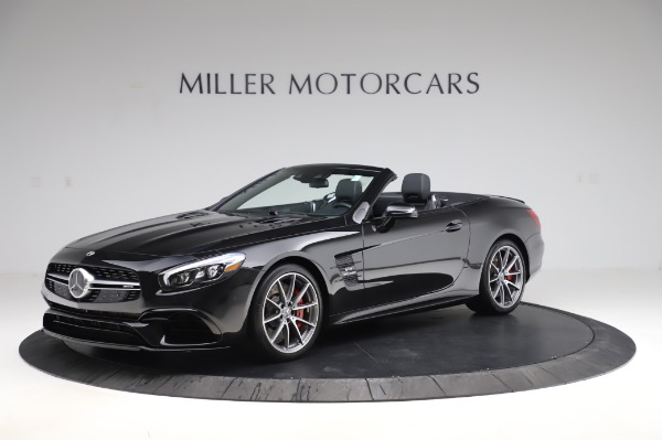 Used 2018 Mercedes-Benz SL-Class AMG SL 63 for sale Sold at McLaren Greenwich in Greenwich CT 06830 1