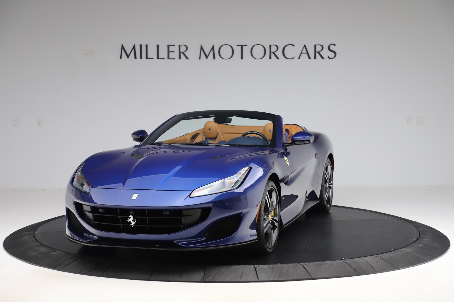 Used 2019 Ferrari Portofino for sale Sold at McLaren Greenwich in Greenwich CT 06830 1