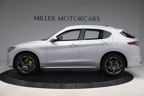New 2020 Alfa Romeo Stelvio Ti Lusso Q4 for sale $55,045 at McLaren Greenwich in Greenwich CT 06830 3