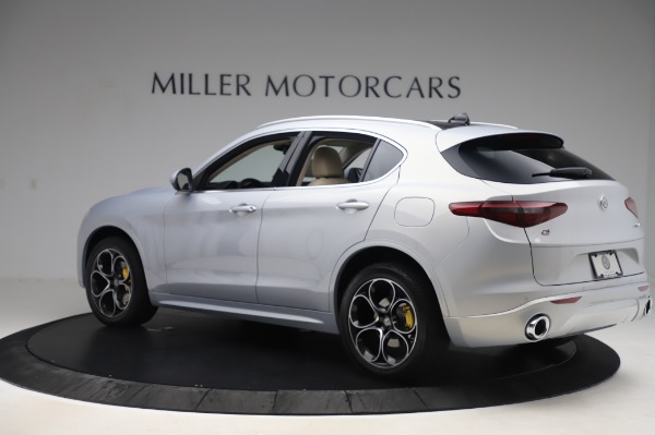 New 2020 Alfa Romeo Stelvio Ti Lusso Q4 for sale $55,045 at McLaren Greenwich in Greenwich CT 06830 4