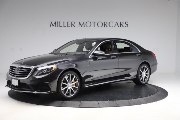 Used 2015 Mercedes-Benz S-Class S 63 AMG for sale Sold at McLaren Greenwich in Greenwich CT 06830 2