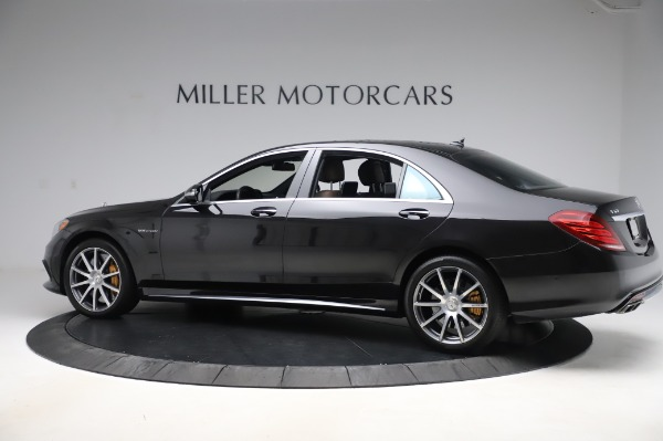 Used 2015 Mercedes-Benz S-Class S 63 AMG for sale Sold at McLaren Greenwich in Greenwich CT 06830 4