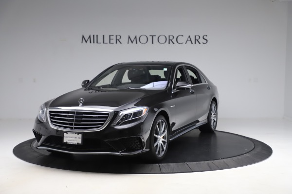Used 2015 Mercedes-Benz S-Class S 63 AMG for sale Sold at McLaren Greenwich in Greenwich CT 06830 1