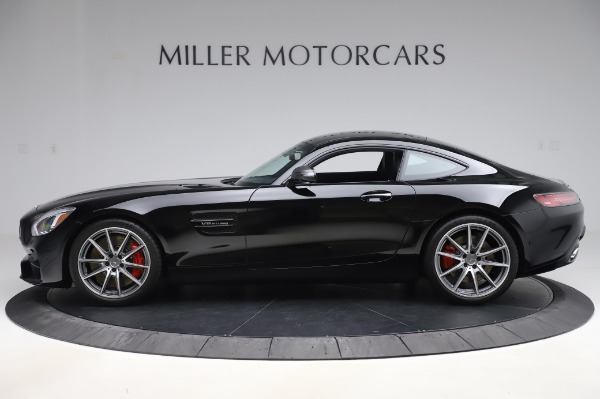 Used 2018 Mercedes-Benz AMG GT S for sale $103,900 at McLaren Greenwich in Greenwich CT 06830 3