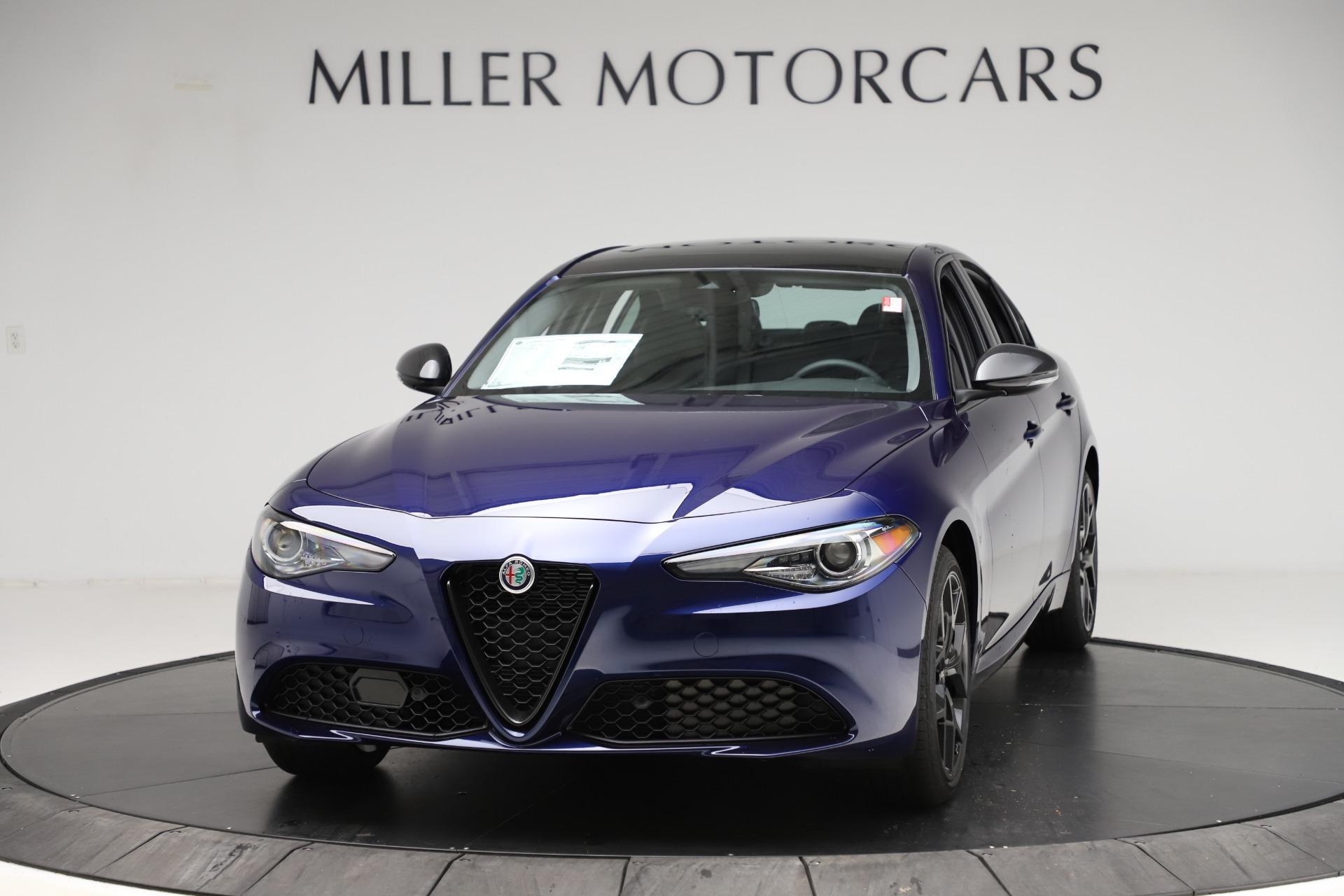 New 2020 Alfa Romeo Giulia Ti Q4 for sale $43,545 at McLaren Greenwich in Greenwich CT 06830 1