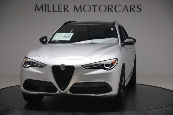New 2020 Alfa Romeo Stelvio Ti Sport Q4 for sale $54,795 at McLaren Greenwich in Greenwich CT 06830 1