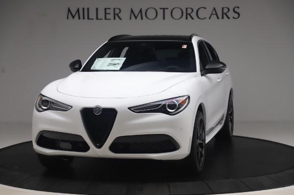 New 2020 Alfa Romeo Stelvio Ti Sport Q4 for sale $56,495 at McLaren Greenwich in Greenwich CT 06830 1