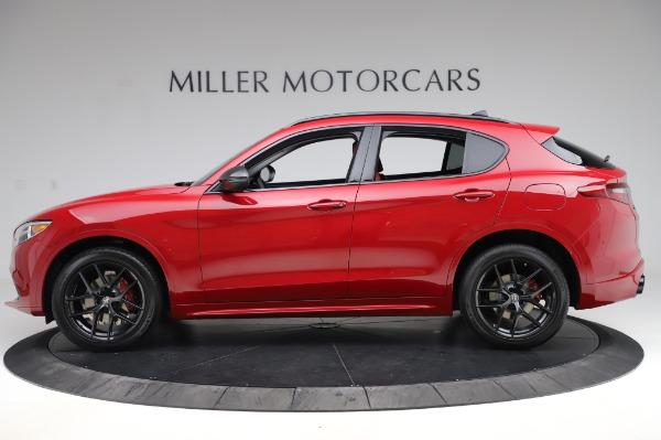 New 2020 Alfa Romeo Stelvio Ti Sport Q4 for sale $54,195 at McLaren Greenwich in Greenwich CT 06830 2