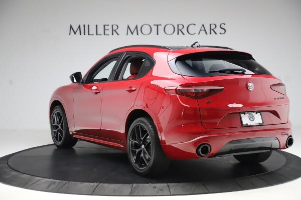 New 2020 Alfa Romeo Stelvio Ti Sport Q4 for sale $54,195 at McLaren Greenwich in Greenwich CT 06830 3