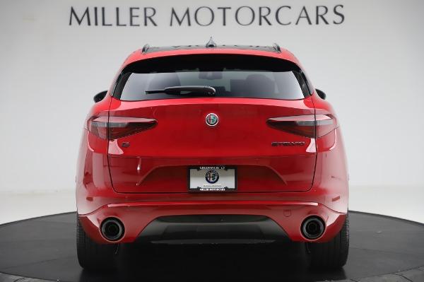 New 2020 Alfa Romeo Stelvio Ti Sport Q4 for sale $54,195 at McLaren Greenwich in Greenwich CT 06830 4