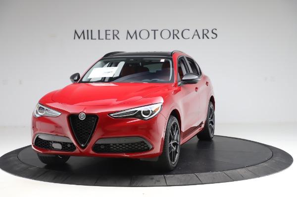 New 2020 Alfa Romeo Stelvio Ti Sport Q4 for sale $54,195 at McLaren Greenwich in Greenwich CT 06830 1