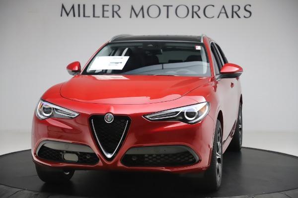 New 2020 Alfa Romeo Stelvio Ti Lusso Q4 for sale $56,495 at McLaren Greenwich in Greenwich CT 06830 1