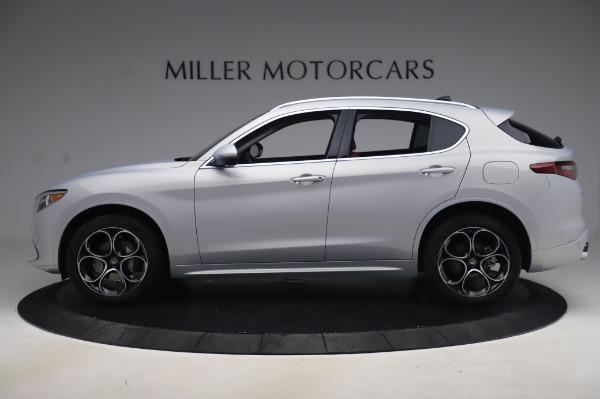 New 2020 Alfa Romeo Stelvio Ti Lusso Q4 for sale $54,145 at McLaren Greenwich in Greenwich CT 06830 3
