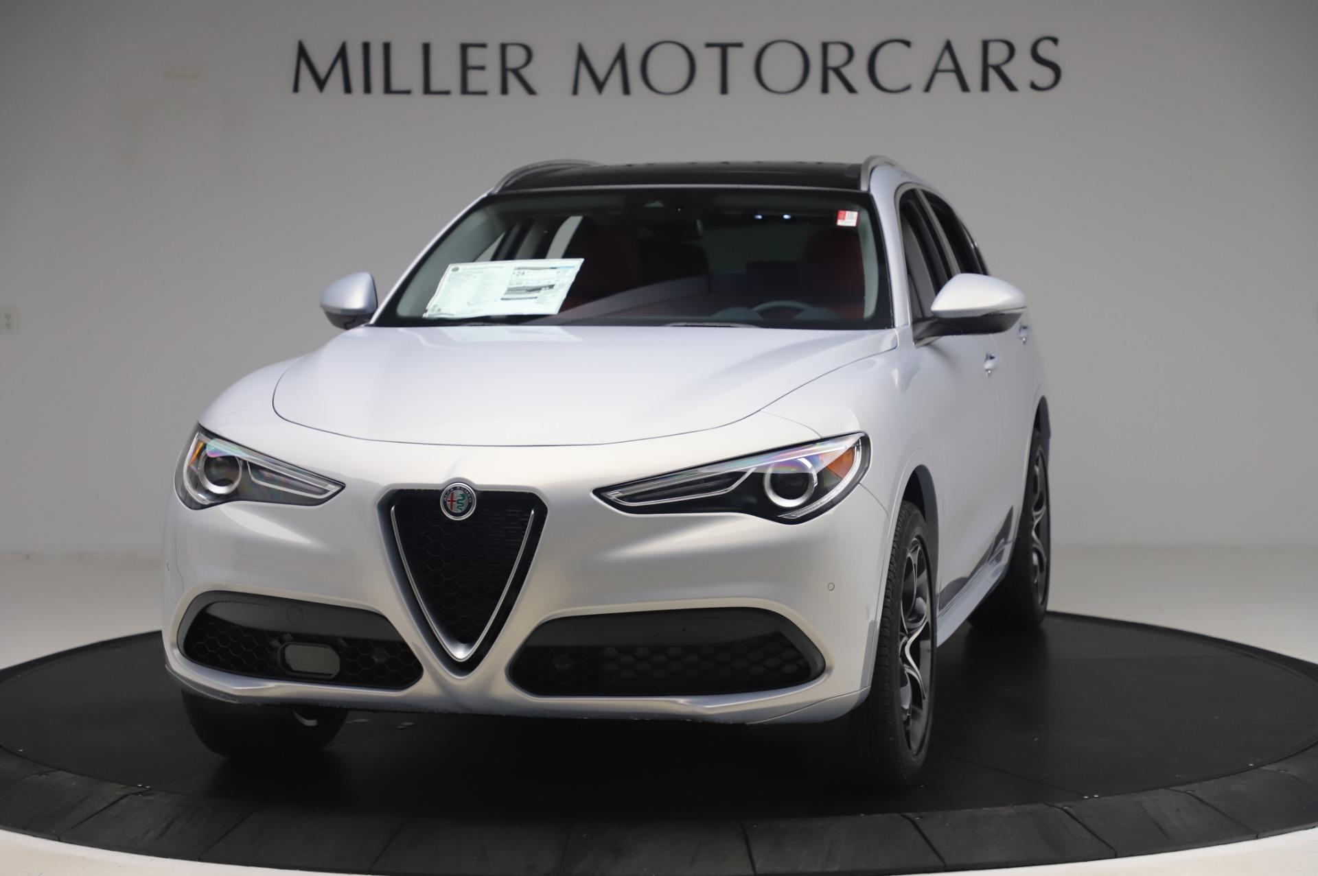 New 2020 Alfa Romeo Stelvio Ti Lusso Q4 for sale $54,145 at McLaren Greenwich in Greenwich CT 06830 1