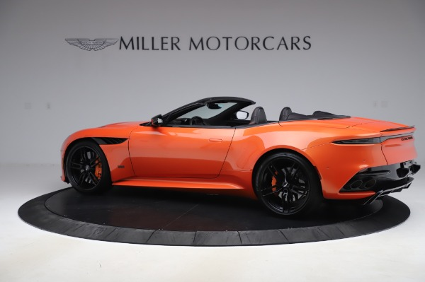 Used 2020 Aston Martin DBS Superleggera Volante for sale $339,800 at McLaren Greenwich in Greenwich CT 06830 3